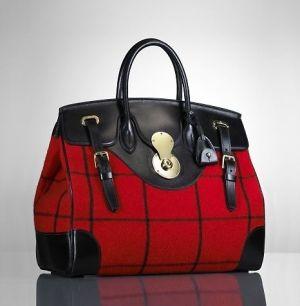 Ralph Lauren windowpane Ricky bag by Janny Dangerous