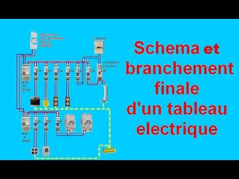 BRANCHEMENT ELECTRIQUE COMMENT FAIRE Circuit Simple Allumage