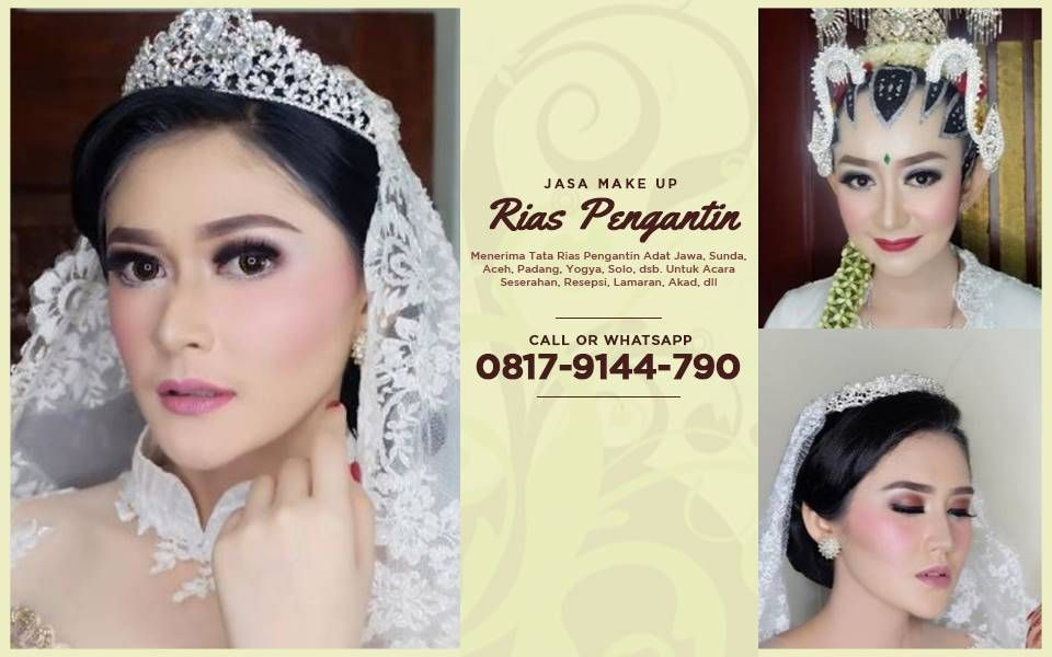 Tercantik Wa 0817 9144 790 Paket Make Up Rias Pengantin