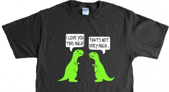 Funny T Rex Shirt Cheap Birthday Gifts For Boyfriend