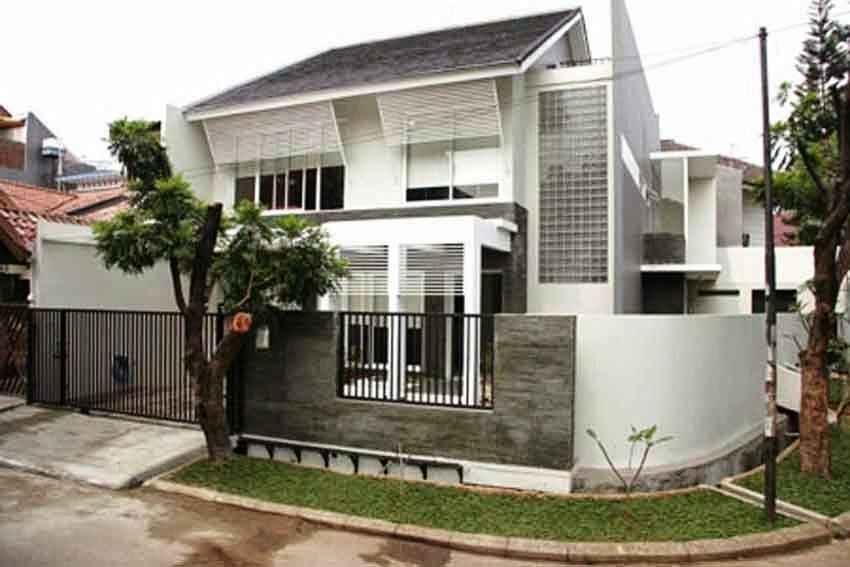Desain Rumah Hook Minimalis Modern Cek Bahan Bangunan