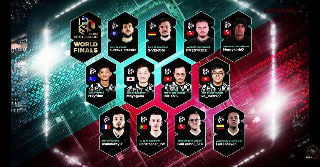 28th-29th June PES League World Finals at Emirates Stadium London