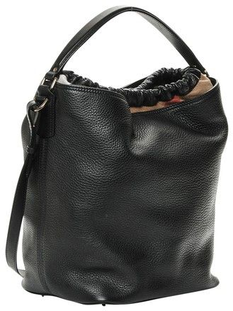 b41fb89bd869 Hobo bags are hot this season! The Burberry Brit Medium Ashby Handbag Black  Leather Hobo Bag is a top 10 member favorite on Tradesy.