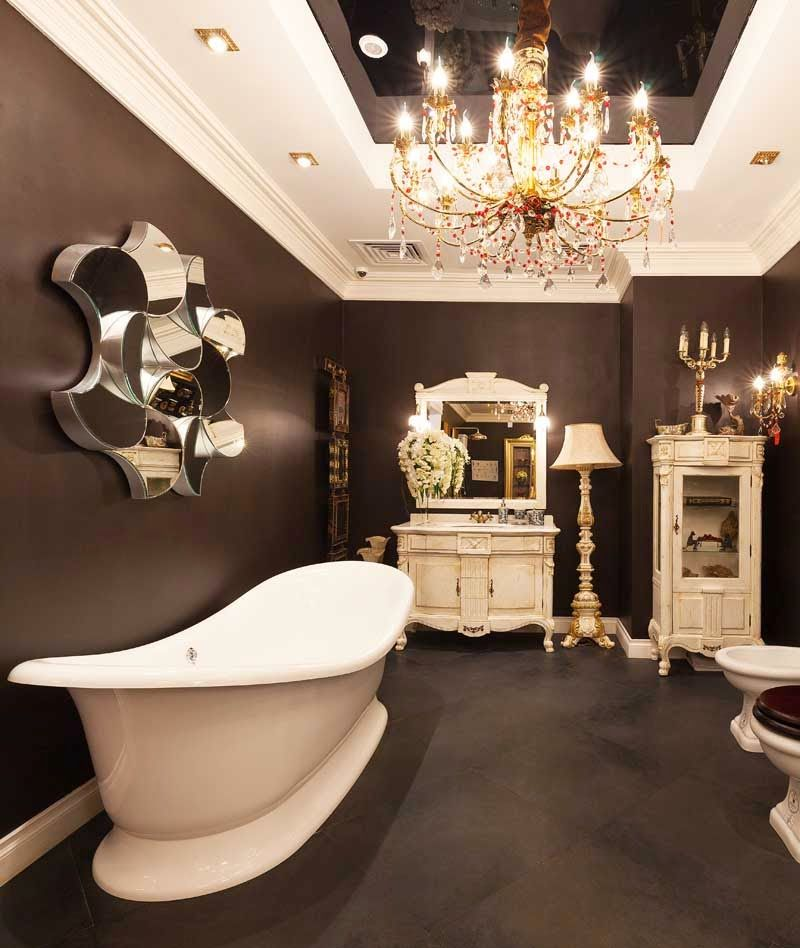 New trends English style in interior for bathroom 2015 | INTERIOR ...
