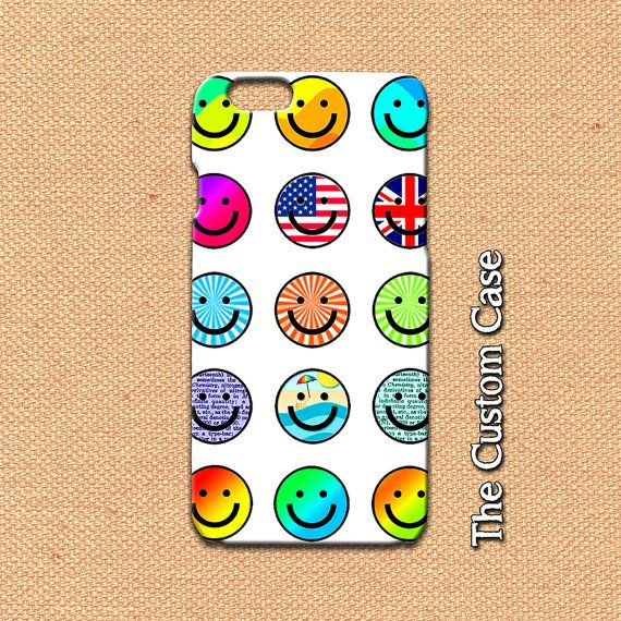 Emoji Iphone Case Smiley Face Iphone Case Emoticon Iphone Etsy Iphone Cases Iphone 4 Case Iphone 6 Plus Case