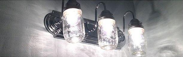 Photo of Gorgeous DIY Mason Jar Light Fixtures | OhMeOhMy Blog