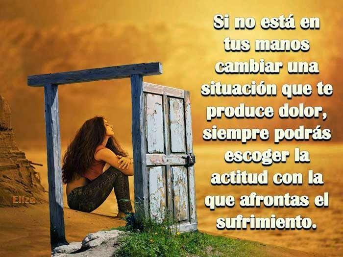 Cómo afrontas el sufrimiento... | Frases de superación ...
