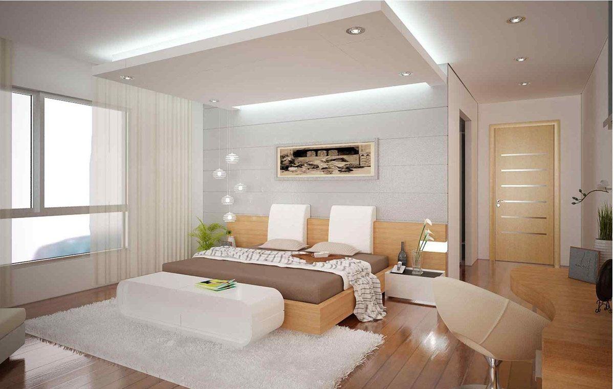 5+ Fabulous Modern Bedroom Ceiling Designs - Ceplukan in 5