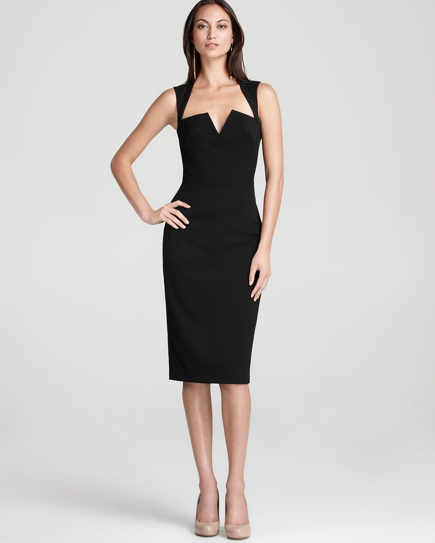 Black Halo Dress - Laurence Sleeveless | Bloomingdale's $345 ...