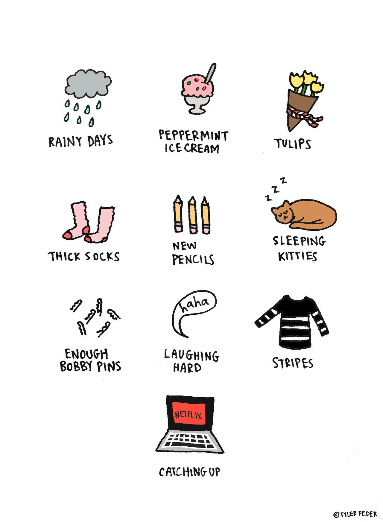 Nice Things (byTyler Feder)
