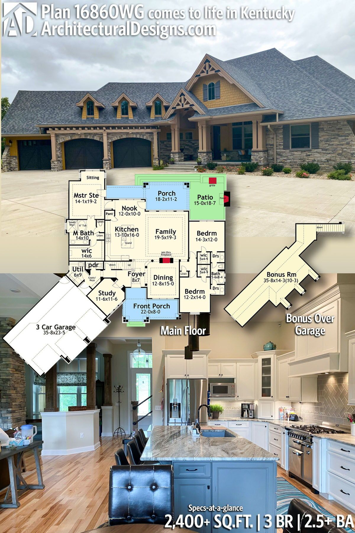 Plan 16860wg New Look Mountain Retreat Dream House Plans New House Plans How To Plan