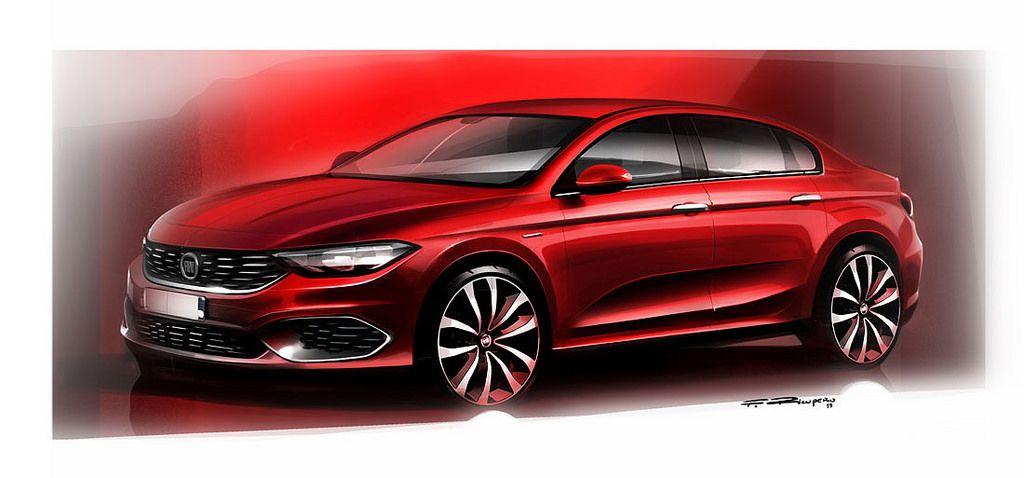 2016111504 Fiat Tipo Family Fiat Tipo Fiat Automotive Illustration