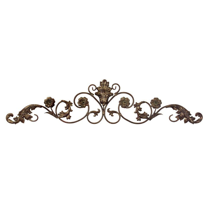 Charlton Home Wall Décor Reviews Wayfair Iron Wall Decor Iron Wall Art Wrought Iron Wall Decor