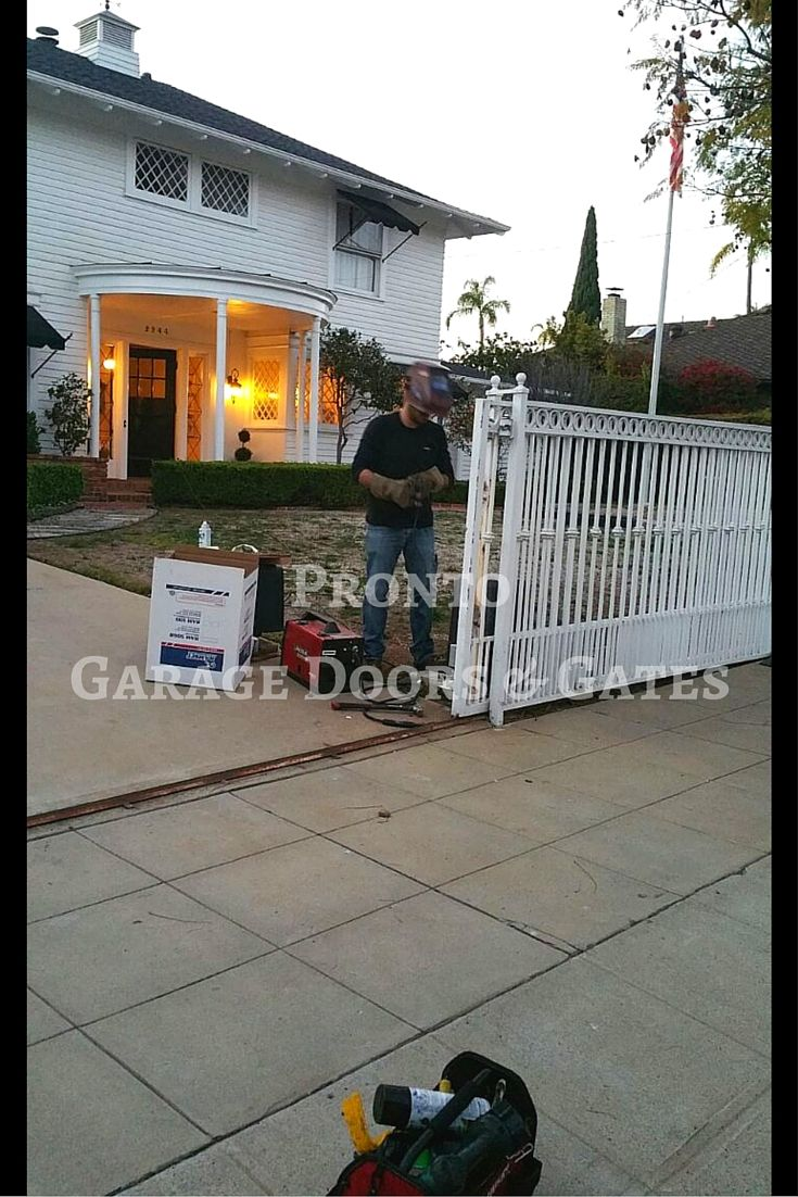 Driveway Gate Repair Service Driveway Gate Garage Doors Automatic Gate