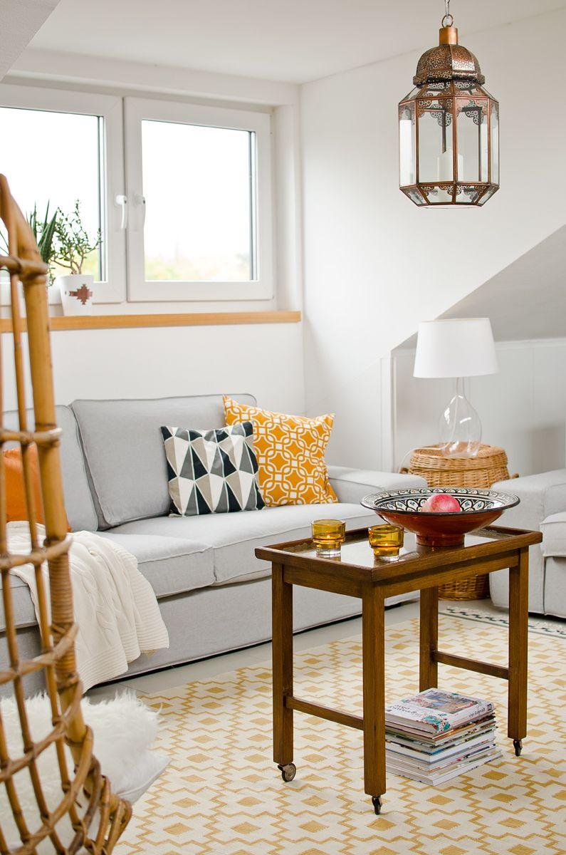 Herbst im Wohnzimmer - Leelah Loves  Wohnzimmer streichen ideen