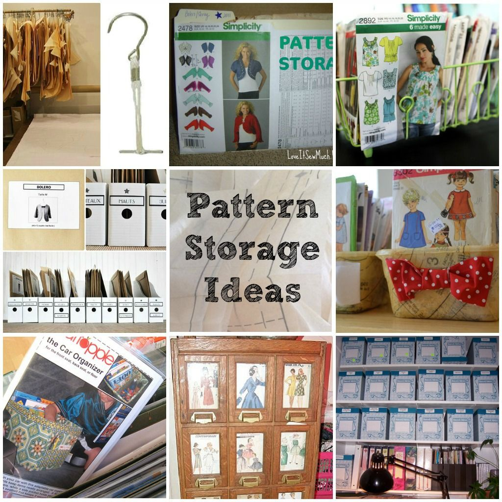 Pattern Storage Ideas And Tips Sewing Pattern Storage Sewing