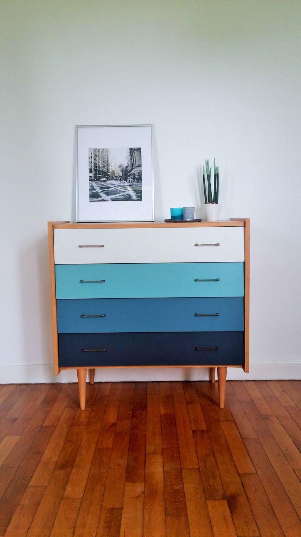 commode vintage années 60/70 | meubles vintages | Pinterest | Paint ...