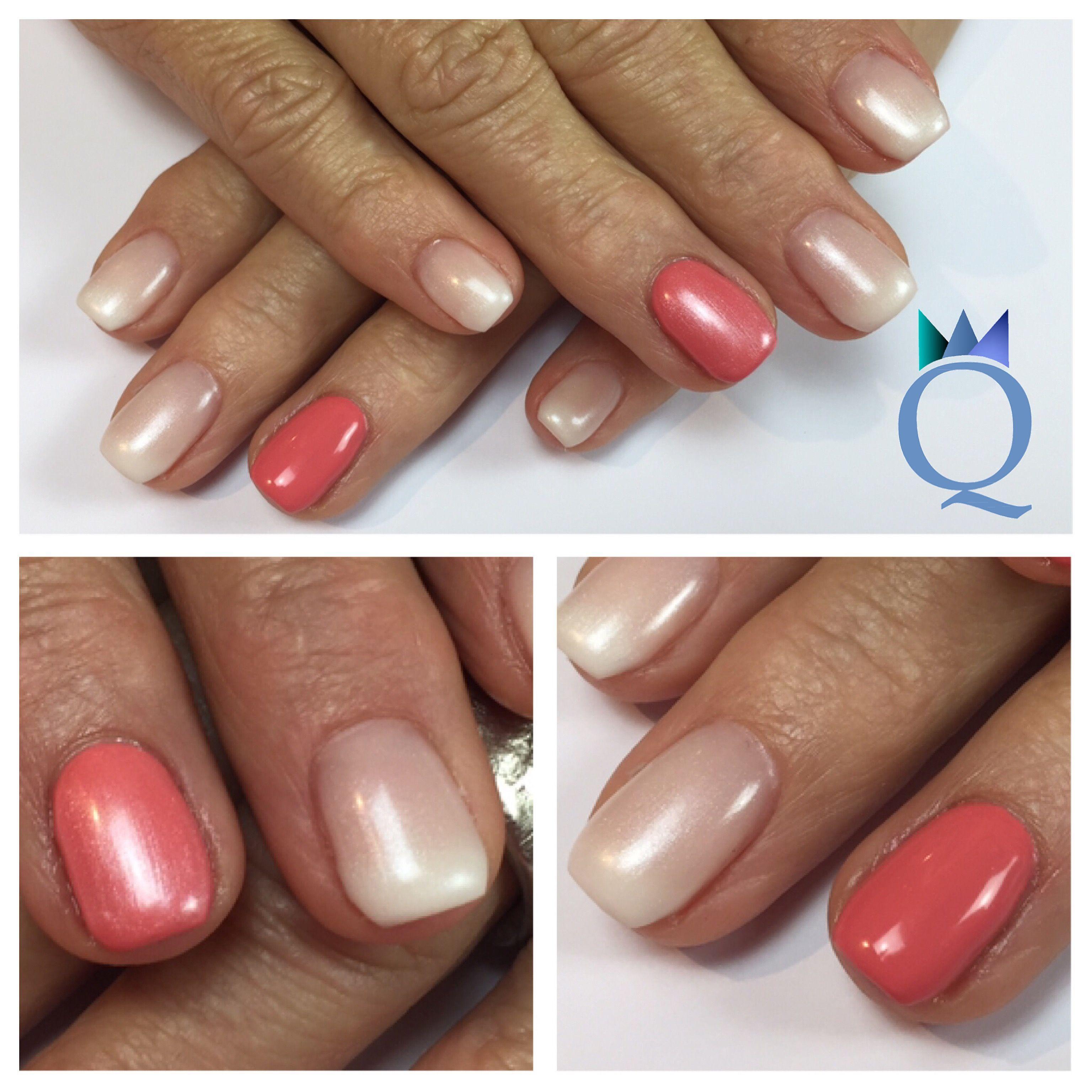 shortnails #coffinnails #ballerinashape #gelnails #nails #babyboomer ...