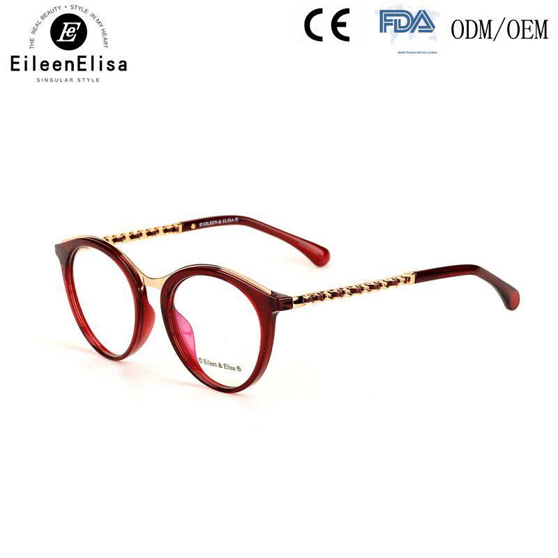 2017 New Round Eyeglasses Frame Wholesale Brand Optical Frames ...