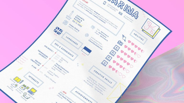 11 DroolWorthy Self Promotion Designs & Resumes Self