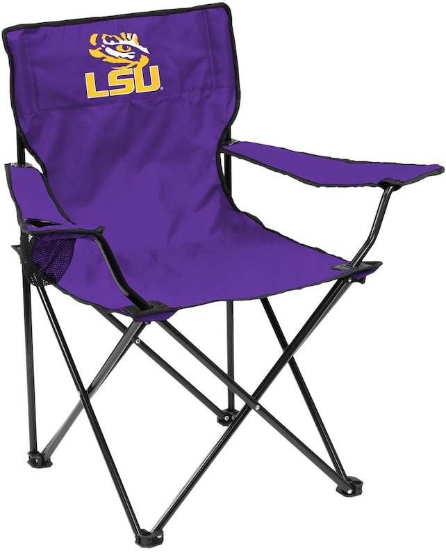 Logo Brand Lsu Tigers Portable Folding Chair Products Folding