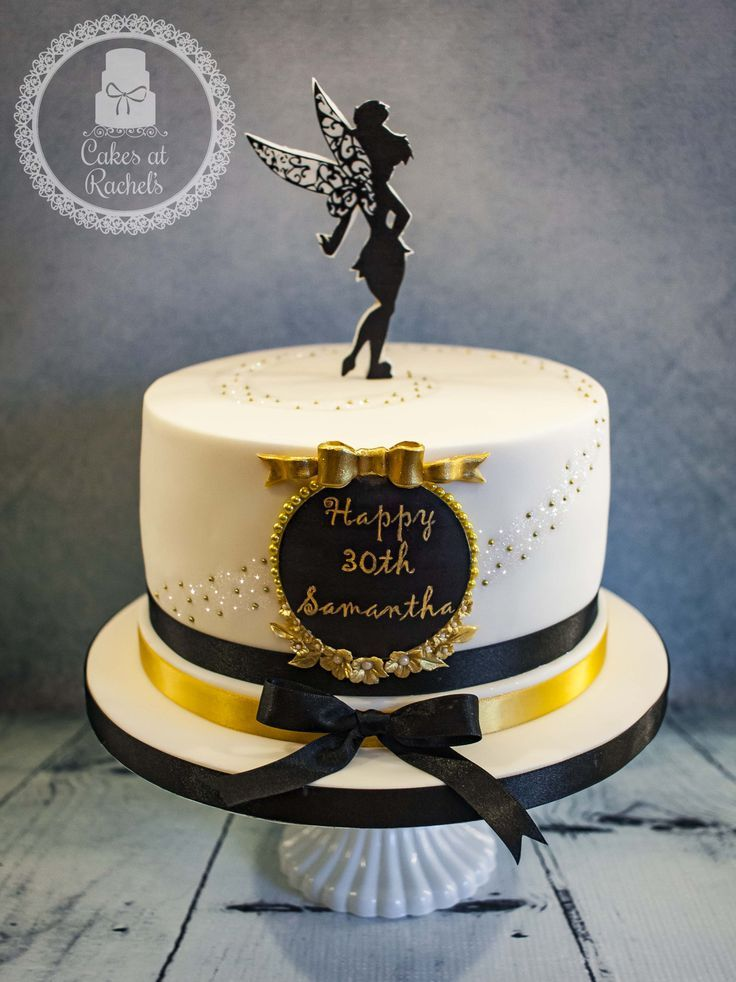 Image Result For Black Gold And White Single Layer Cake New