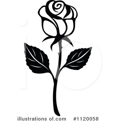 Rose Clipart Black And White Clipart Panda Free Clipart Images