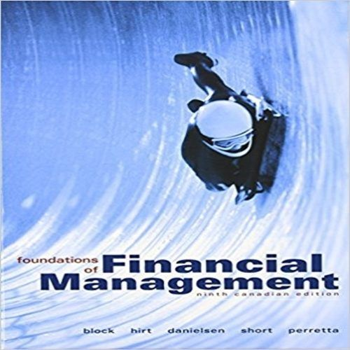 Test bank for foundations of financial management canadian 9th test bank for foundations of financial management canadian 9th edition by block hirt danielsen short and perretta test bank pinterest foundation and fandeluxe Image collections