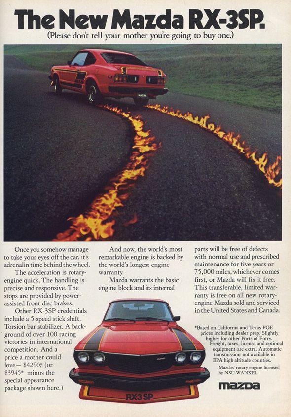 Vintage Mazda Ads Part 2 Revlimiter Net Car Ads Mazda Classic Japanese Cars