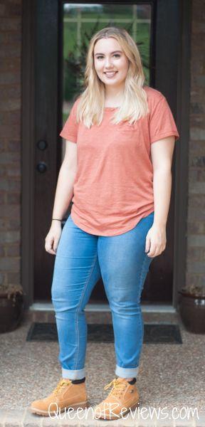 premium selection 8d4fc 1218a Hannah wearing Lugz Huddle Women s Boots 1