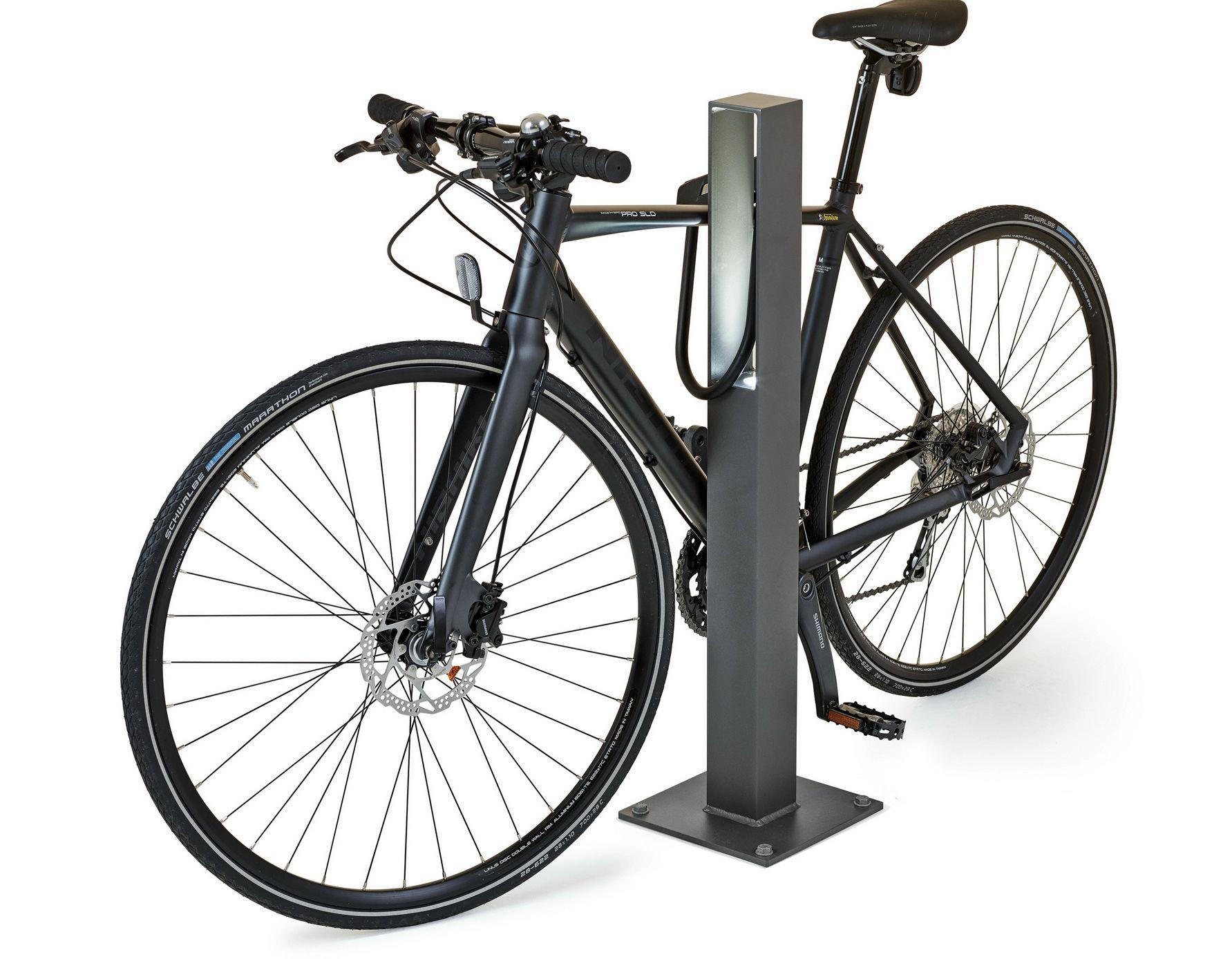 aluminium bicycle rack blenda by nola