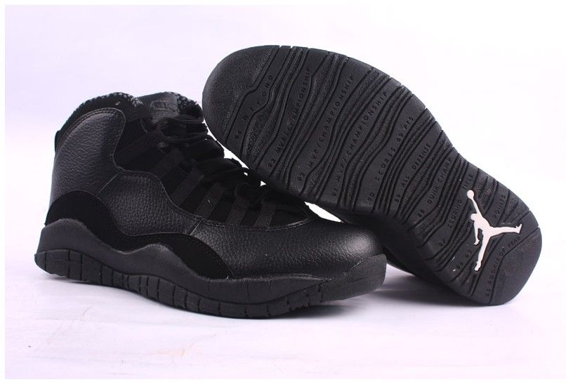 timeless design 7d907 3ba37 Air Jordan 10s x Retro Black | JORDAN RETRO 10 | Air jordans ...
