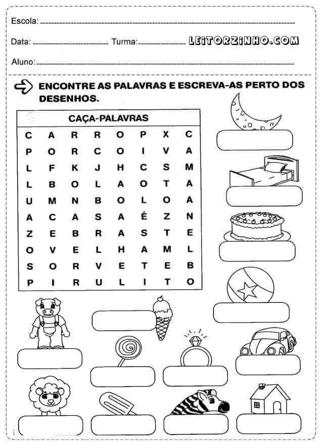 Pin De Reijane Lima Em Atividades Atividades De Alfabetizacao