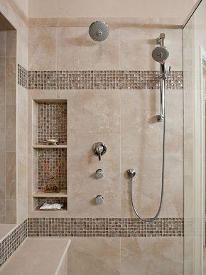 80+ Stunning Bathroom Shower Tile Ideas   Tile ideas, Glass and Bath