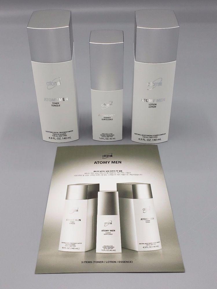Atomy Men Set Toner Lotion Essence Lotion Mens Skin Care Skin Care Cream