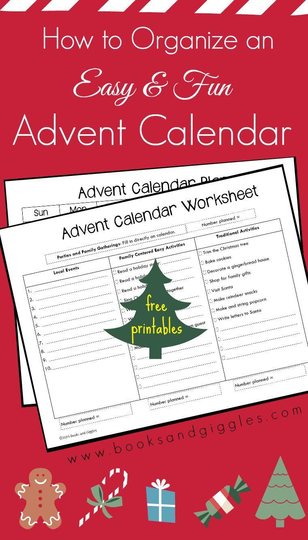 how to organize your advent calendar ideas christmas. Black Bedroom Furniture Sets. Home Design Ideas