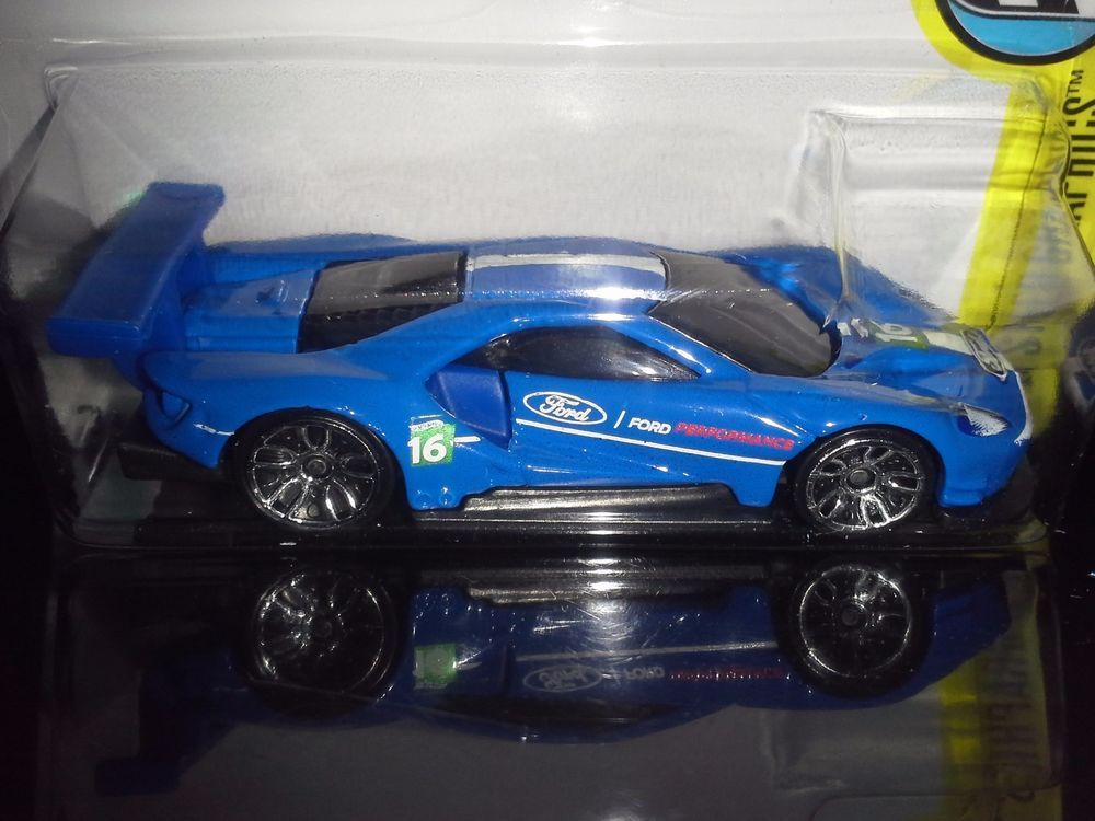 Hot Wheels  Speed Graphics  Ford Gt Race Blue