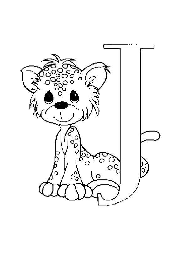lernübungen für kinder zu drucken. infant alphabete 19