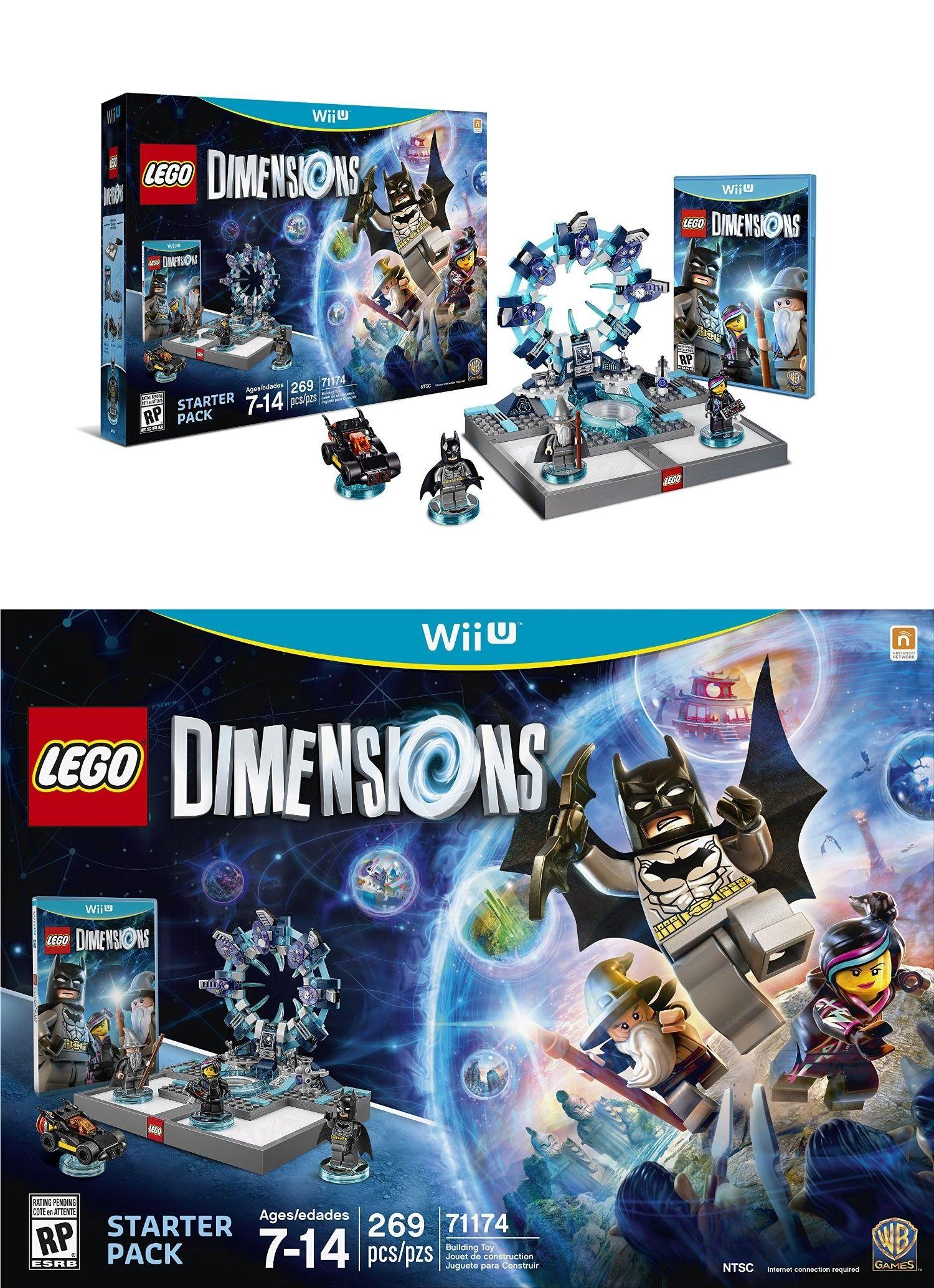 Lego Dimensions Starter Pack Nintendo Wii U Wii U Games Lego Dimensions Nintendo Wii U Games