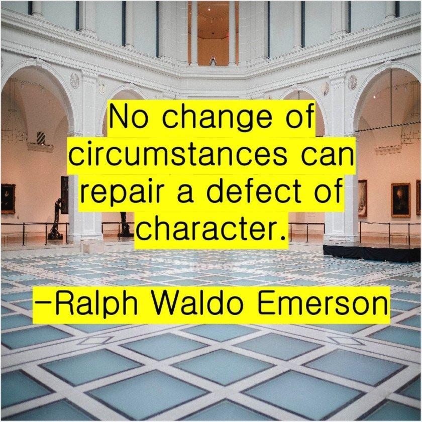 Ralph Waldo Emerson No Change Of Circumstances Can Ralph Waldo Emerson Emerson Viral Quotes