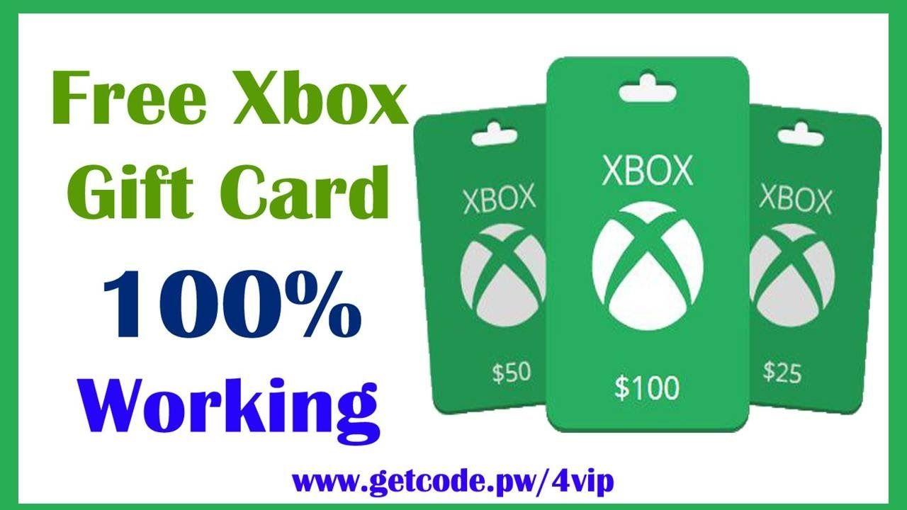 Free Xbox Gift Card Codes List Free Xbox Gift Card Code Google