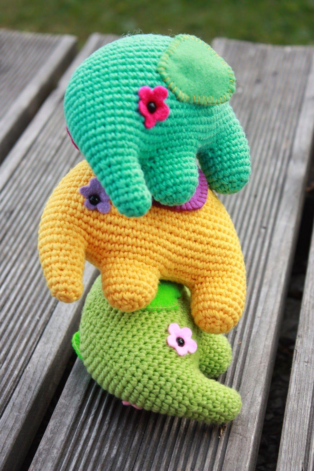 Crochet Stuffed Elephant Pattern Simple Inspiration Ideas