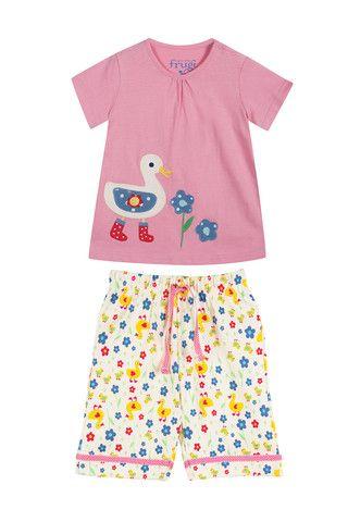 0b82a5c09c34 Frugi Girls Summer Pyjamas