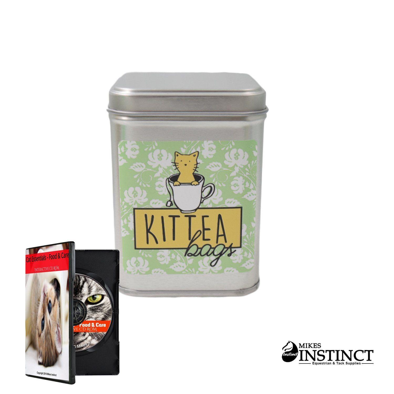 Cat Kitten Kitty KitTEA Tea Bags Catnip Tea Organic