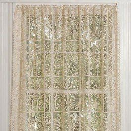Heritage Lace Rabbit Hollow Panel 60 Wide X 84 Drop White By Heritage 55 25 100 Polyester Machine Wash Vintage Lace Curtains Lace Curtains Curtain Decor