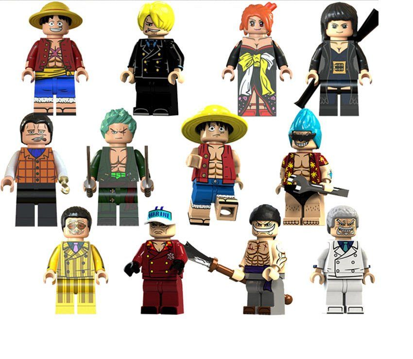 one piece anime lego sets