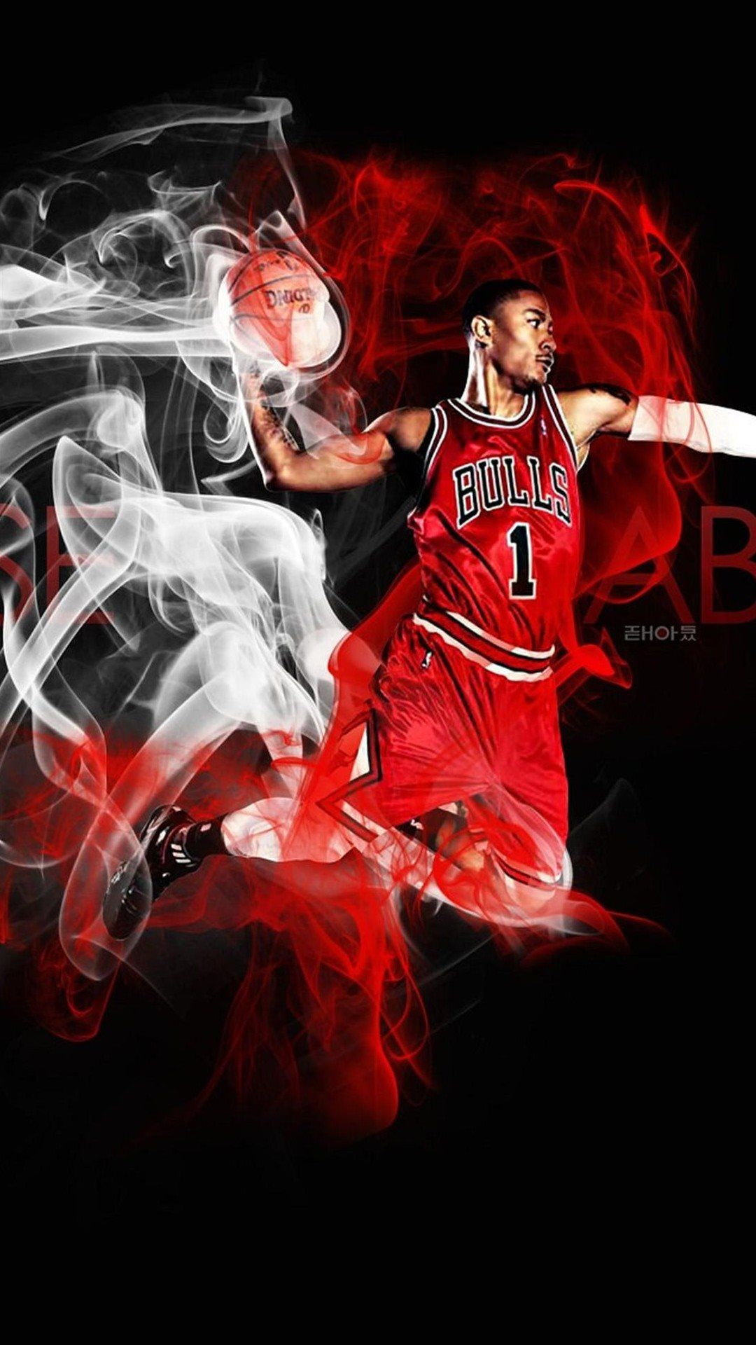 Cartoon Nba Wallpaper Iphone In 2020 Derrick Rose Wallpapers Nba Wallpapers Derrick Rose