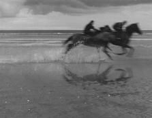 IRELAND. Laytown Beach. Horses racing. 1988.