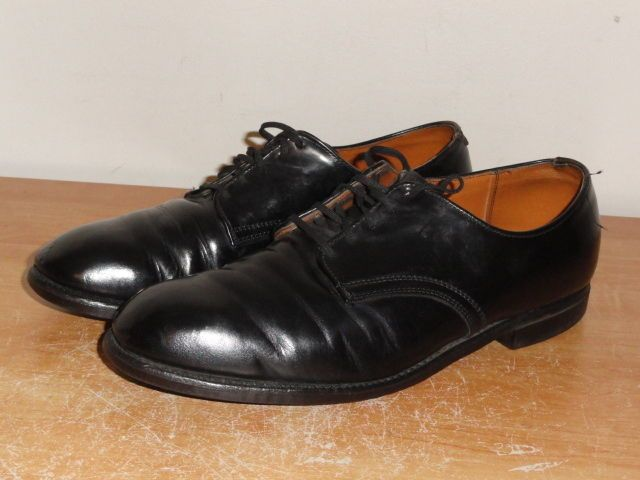 Vintage 1970's Black Leather RED WING Classic 9109 Postman Oxfords Sz-10E USA #RedWing #Oxfords
