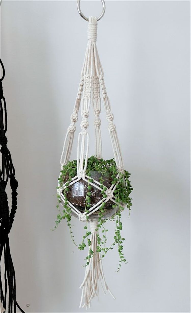 40+ Indoor Macrame Plant Hanger DIY Idea Collections